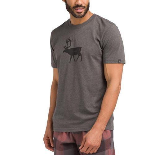 prAna Men's Y'Olde T-Shirt Deerhthr