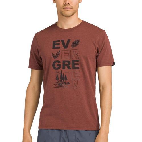 prAna Men's Y'Olde T-Shirt Evermaple
