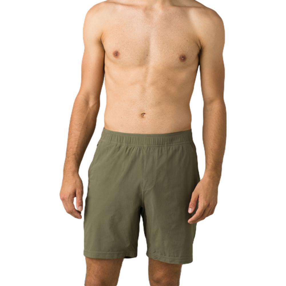 prAna Men's Heiro Shorts RYEGREEN