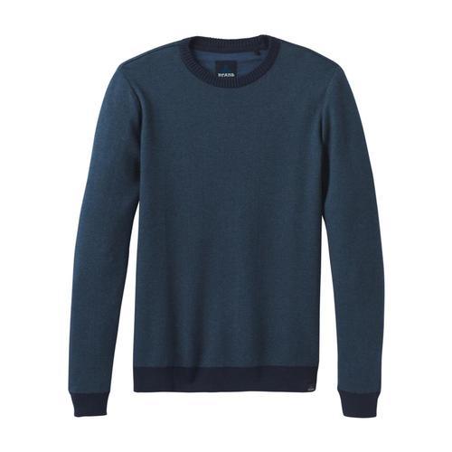 prAna Men's Vertawn Sweater Bluenotehthr