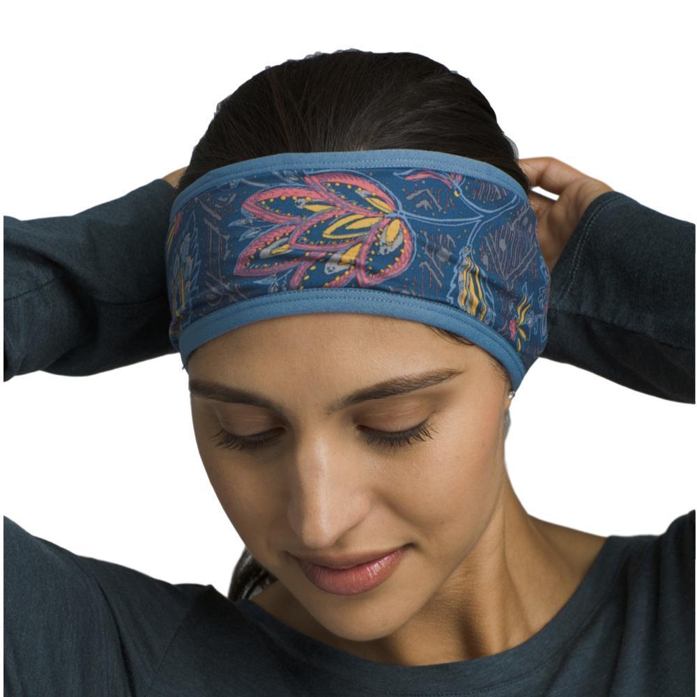 prAna Kenmont Headband BLACKJIGSA