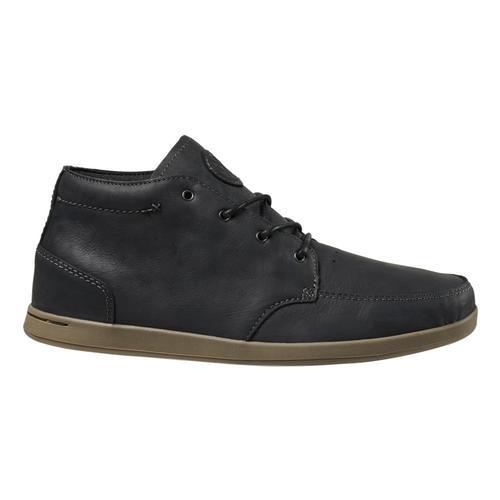 Reef Men's Spiniker Mid NB Shoes Black_blc