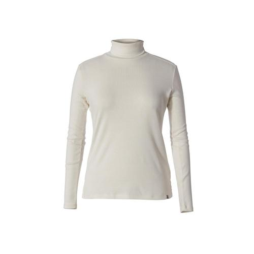 Royal Robbins Women's Kickback Turtleneck Creme_022