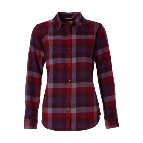 Royal Robbins Women's Lieback Flannel Long Sleeve Shirt Rhubarb_316