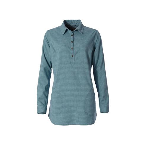 Royal Robbins Women's Hemp Blend Long Sleeve Shirt Frostblue_093