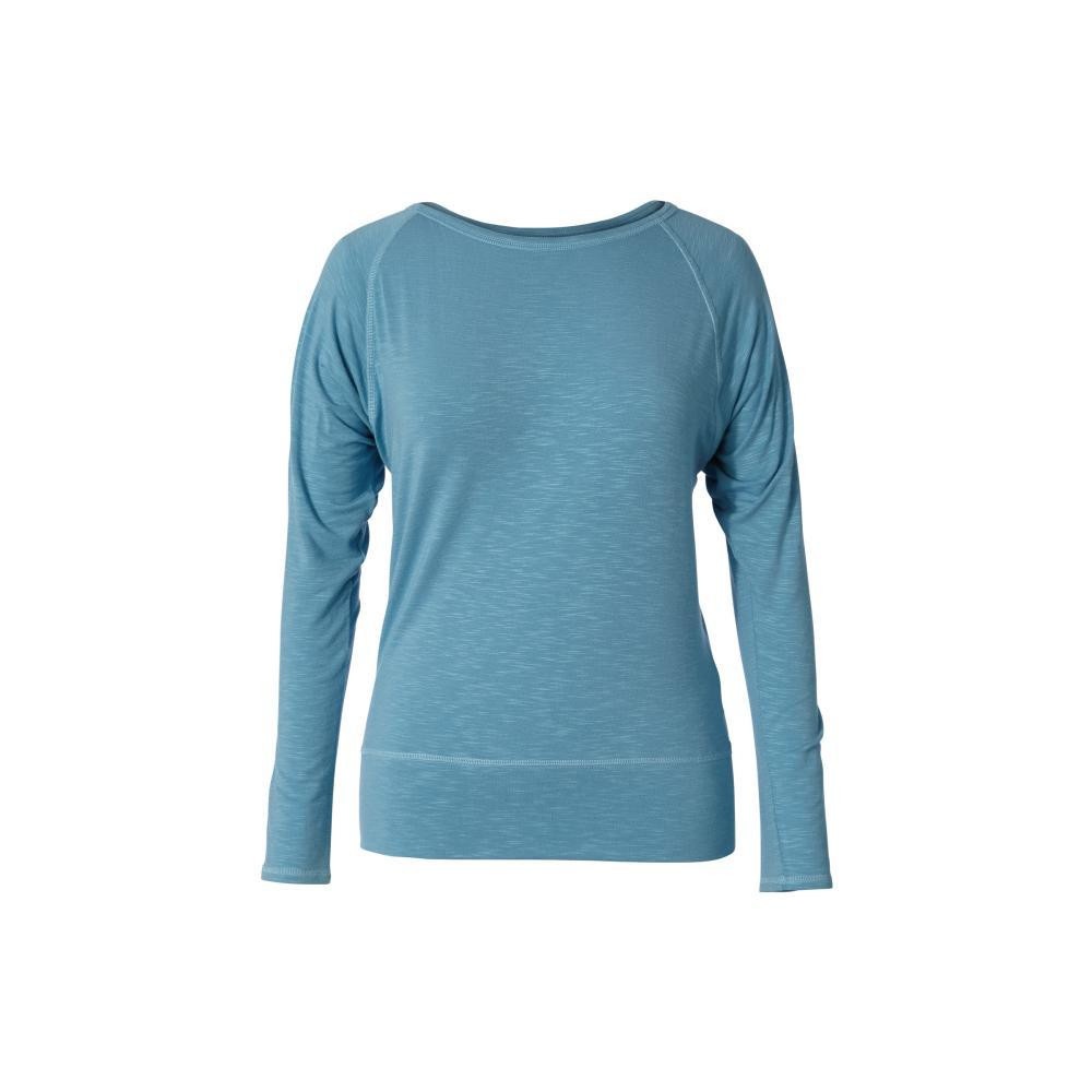 Royal Robbins Women's Noe Long Sleeve Shirt FROSTBLUE_093