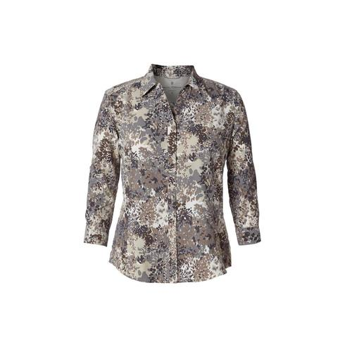 Royal Robbins Women's Expedition Print 3/4 Sleeve Shirt Falcon_423