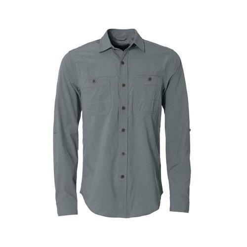 Royal Robbins Men's Long Distance Traveler Long Sleeve Shirt Lead324