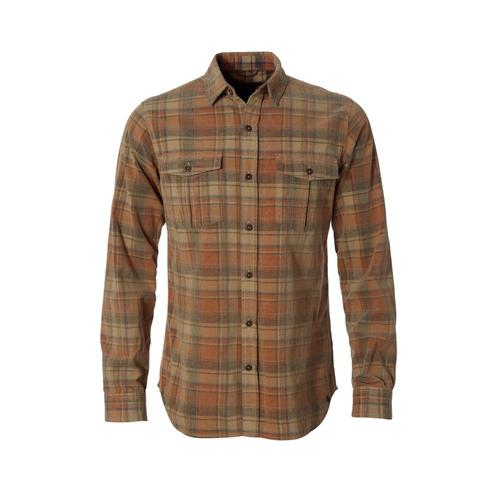 Royal Robbins Men's Covert Cord Long Sleeve Shirt Desert076