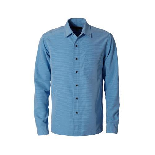 Royal Robbins Men's Desert Pucker Dry Long Sleeve Shirt Bluejay749