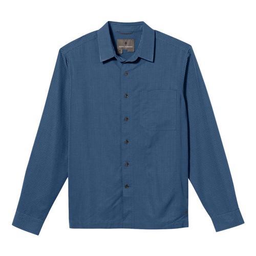 Royal Robbins Men's Desert Pucker Dry Long Sleeve Shirt Colblue751