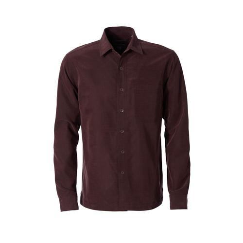 Royal Robbins Men's Desert Pucker Dry Long Sleeve Shirt Mahogany228