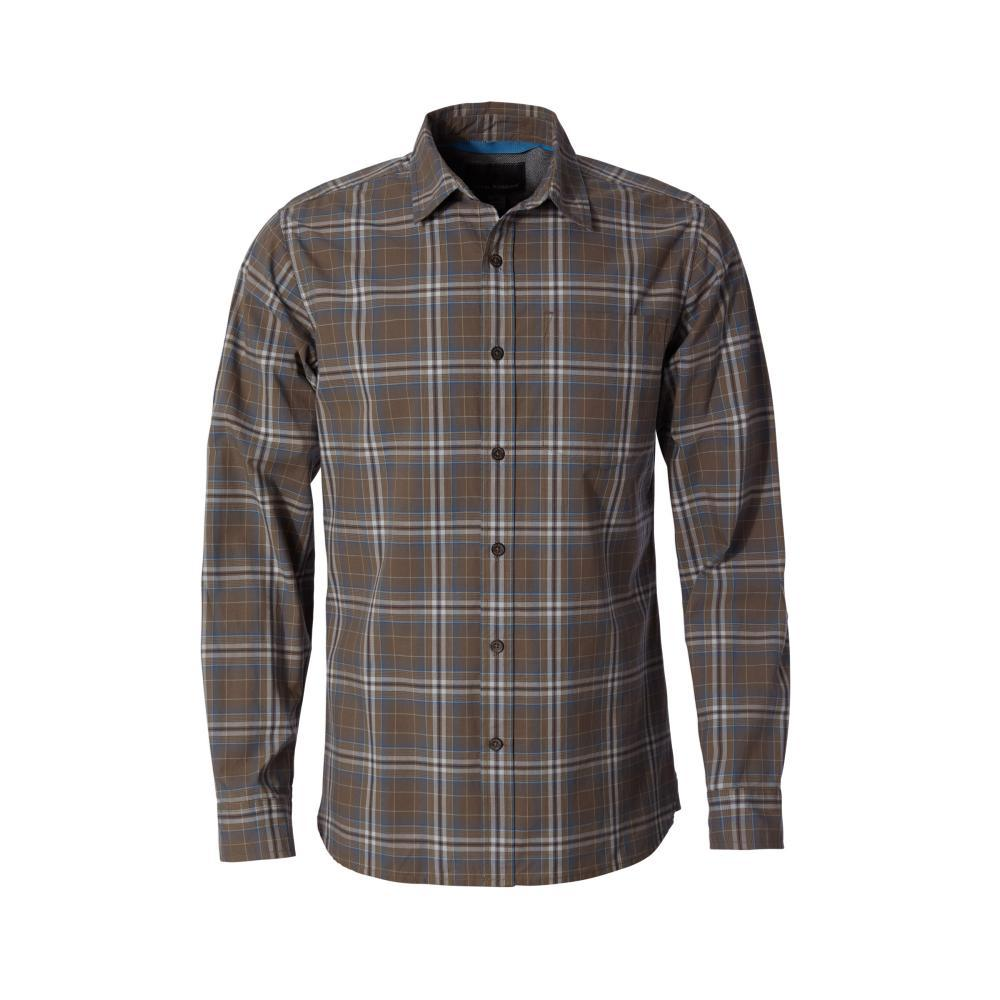 Royal Robbins Men's Trouvaille Plaid Long Sleeve Shirt FALCON423