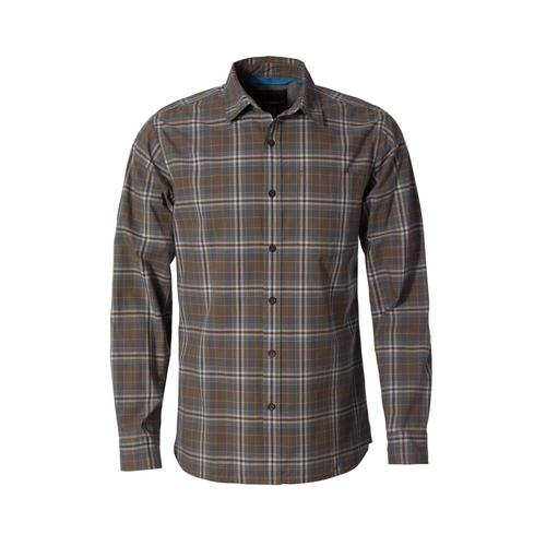 Royal Robbins Men's Trouvaille Plaid Long Sleeve Shirt Falcon423