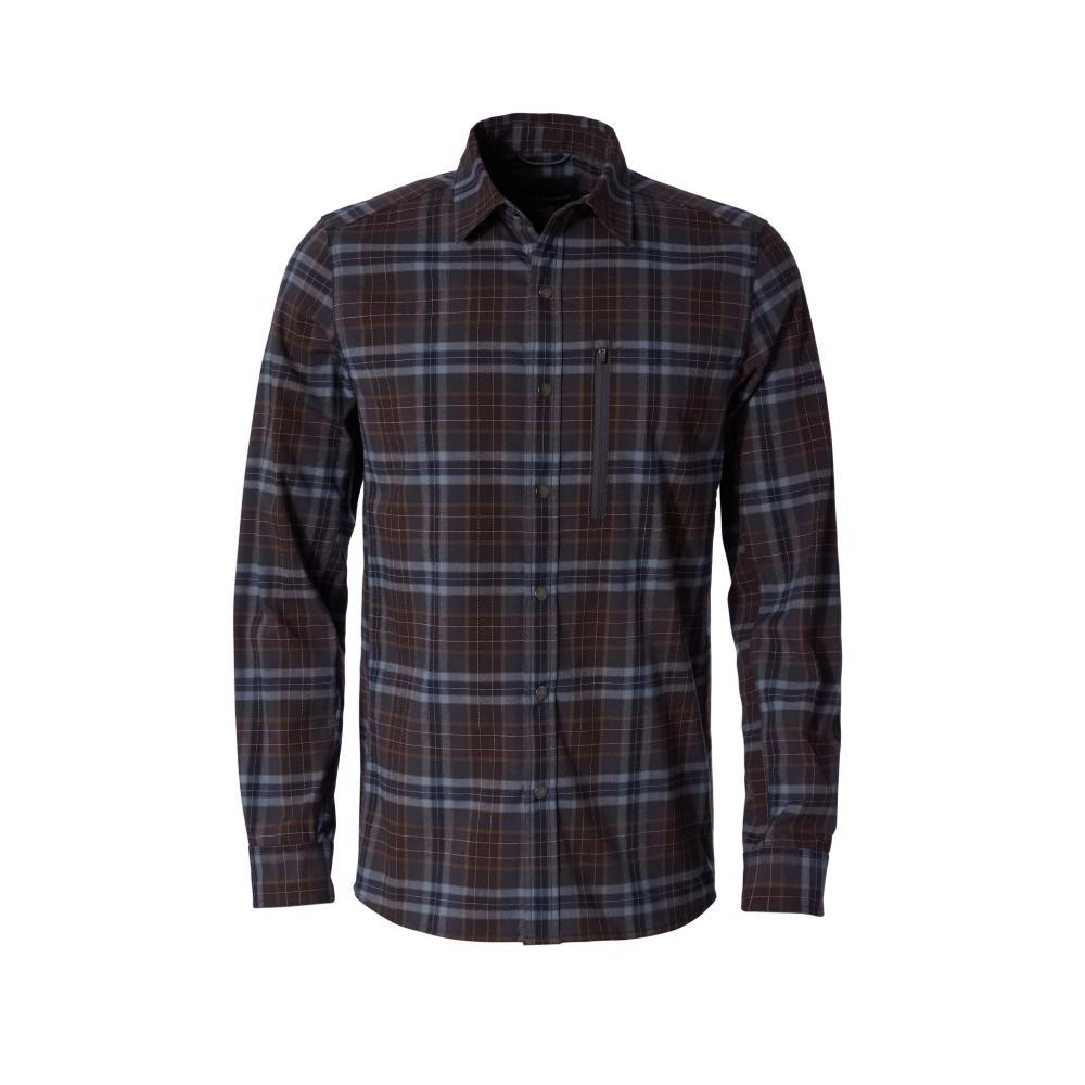 Royal Robbins Men's Thermotech Ren Plaid Long Sleeve Shirt FALCON423