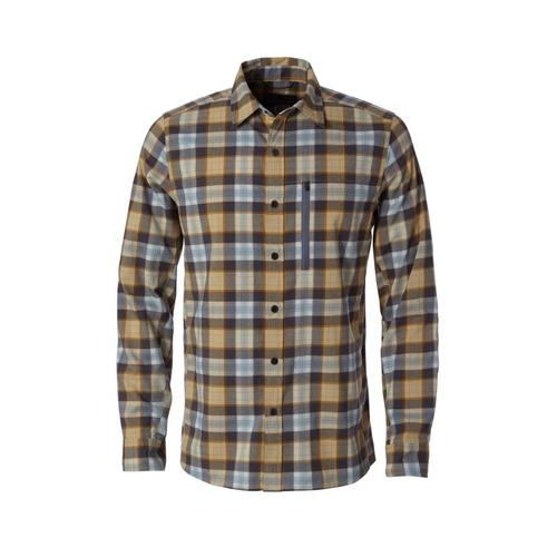 Royal Robbins Men's Thermotech Ren Plaid Long Sleeve Shirt Turbulence320