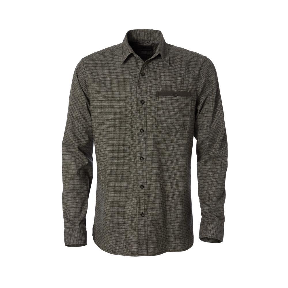 Royal Robbins Men's Hemp Blend Long Sleeve Shirt DKSPRUCE284