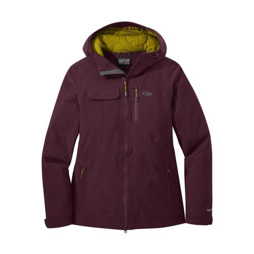 Outdoor Research Women's Blackpowder II Jacket Cacao_1567