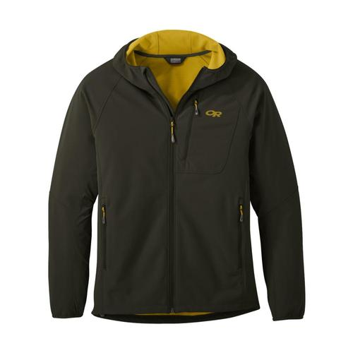 Outdoor Reasearch Men's Ferrosi Grid Hooded Jacket Forest600