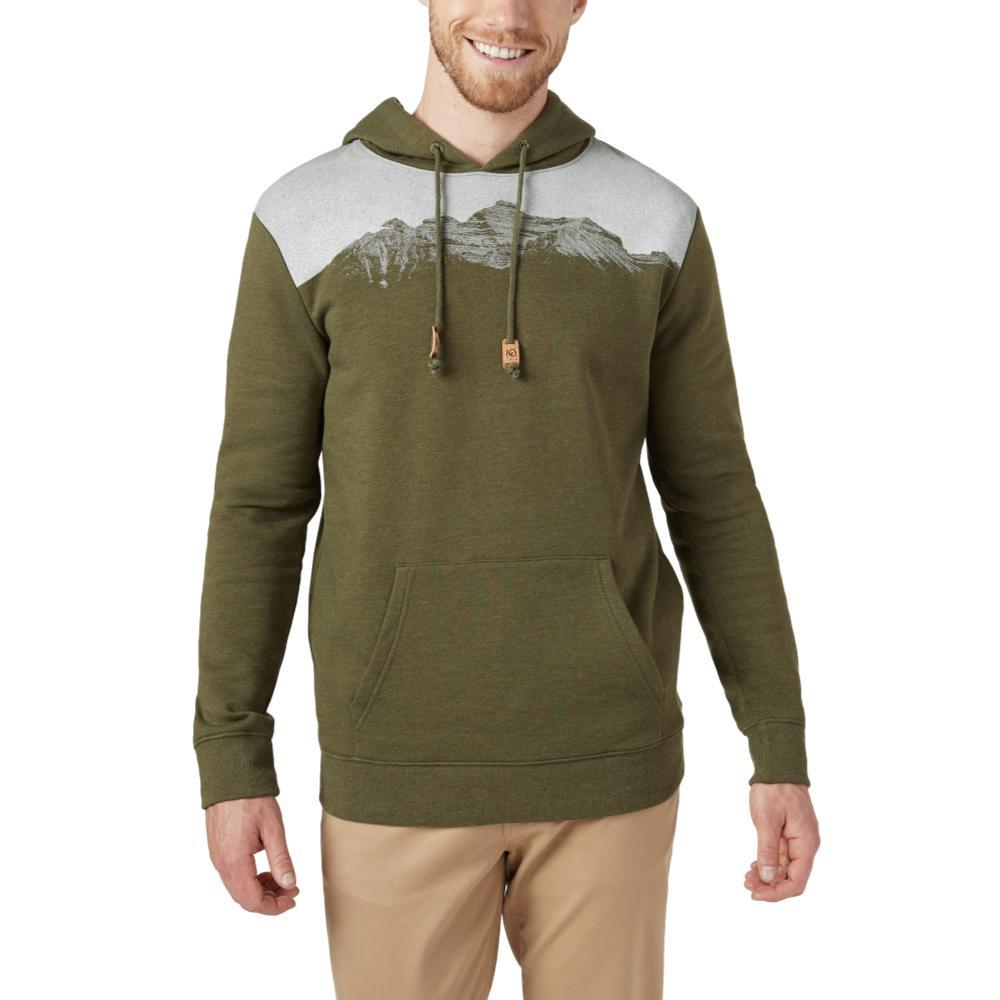tentree Men's Mountain Juniper Hoodie OLIVEGRN