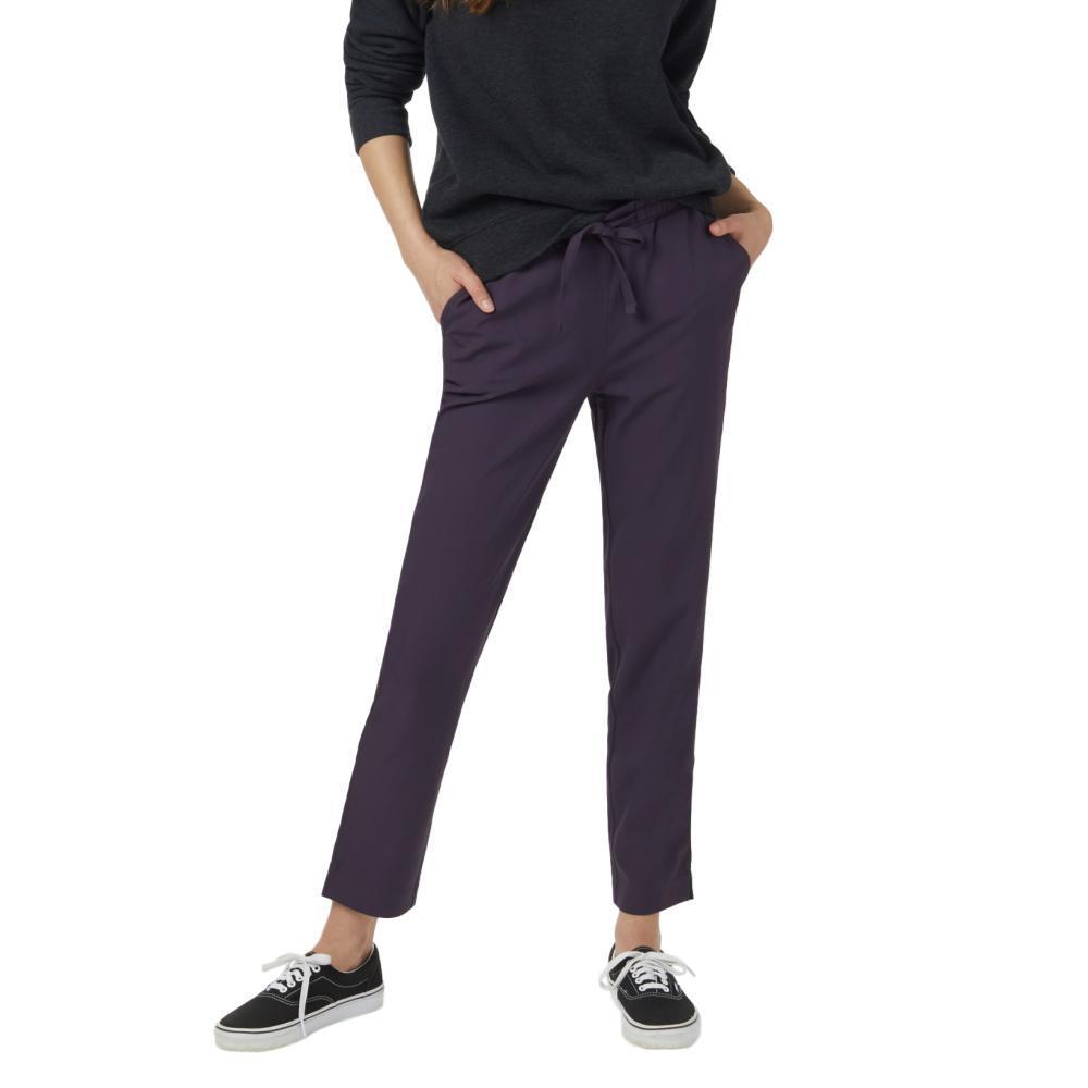 tentree Women's Cascara Pants AUBERGINE