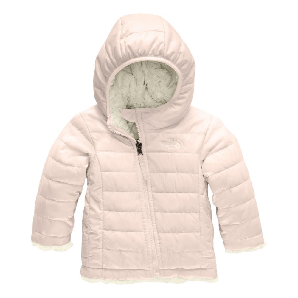 The North Face Infant Reversible Mossbud Swirl Hoodie PNKWHT_DGH