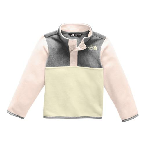 The North Face Toddler Glacier 1/4 Snap Pullover Prdpnk_rs4