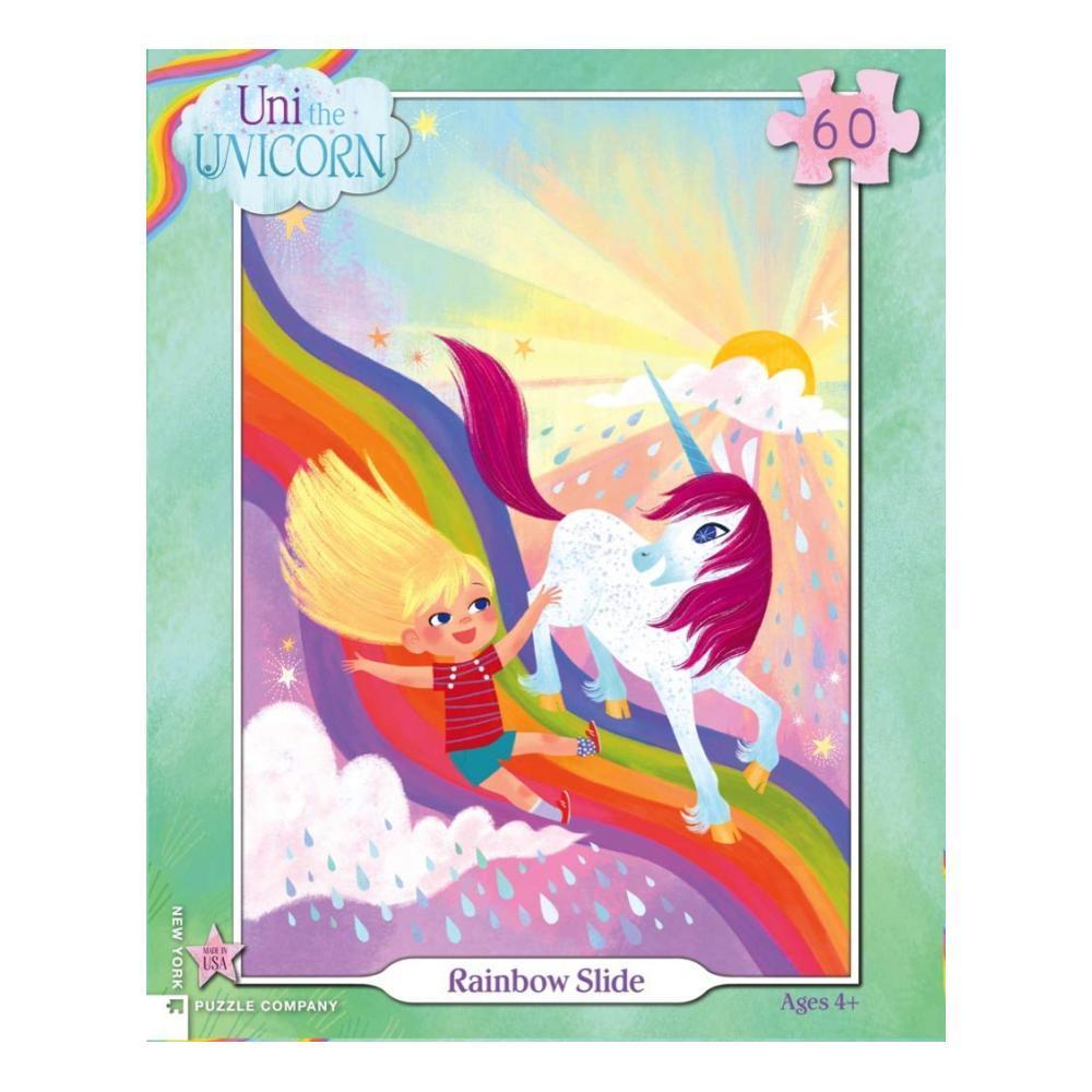 New York Puzzle Company Rainbow Slide Puzzle