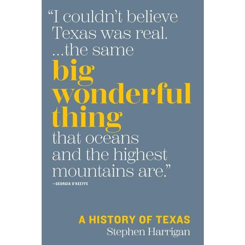 Big Wonderful Thing: A History of Texas by Stephen Harrigan