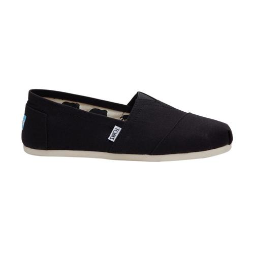 TOMS Men's Classic Canvas Shoes - Black Black