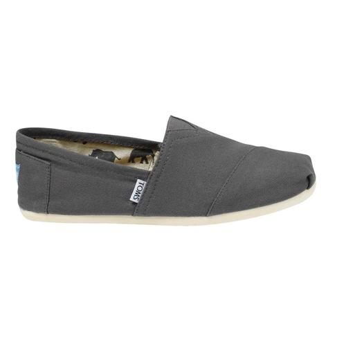 TOMS Men's Classic Canvas Shoes - Grey Grey