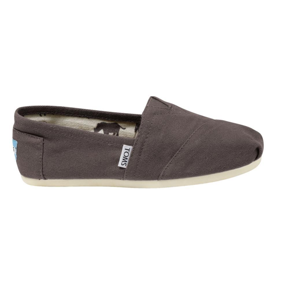 TOMS Women's Classic Canvas Shoes - Grey GREY