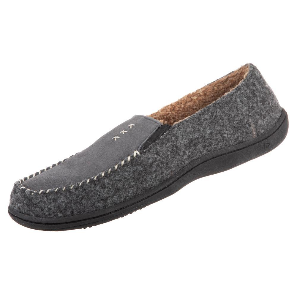 Acorn Men's Crafted Moc Slippers  ASH