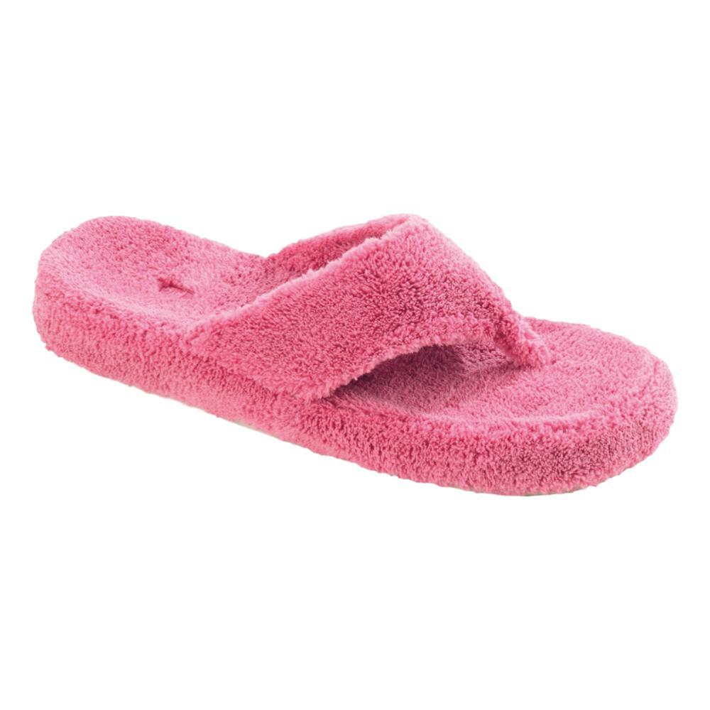 Acorn Women's Spa Thong Terry Slippers AZALEA