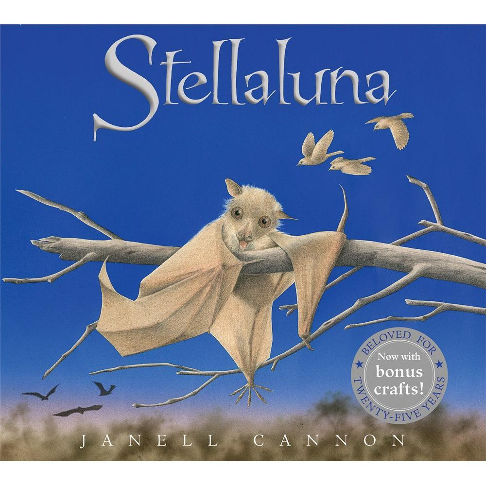 Houghton Mifflin Co.Stellaluna 25th Anniversary Edition Book
