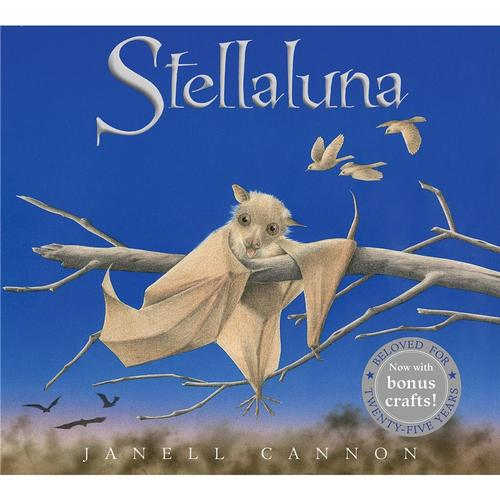 Stellaluna 25th Anniversary Edition by Janell Cannon
