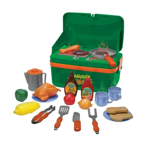 Thin Air Brands Kid's BBQ Grill Cookout Camp Stove Play Set