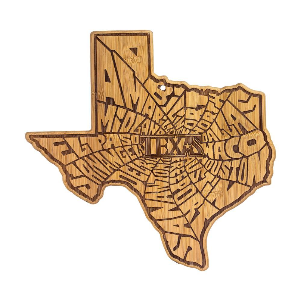 Totally Bamboo A Spin Around Texas Cutting Board