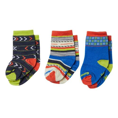 Smartwool Toddler Trio Socks Blue_378