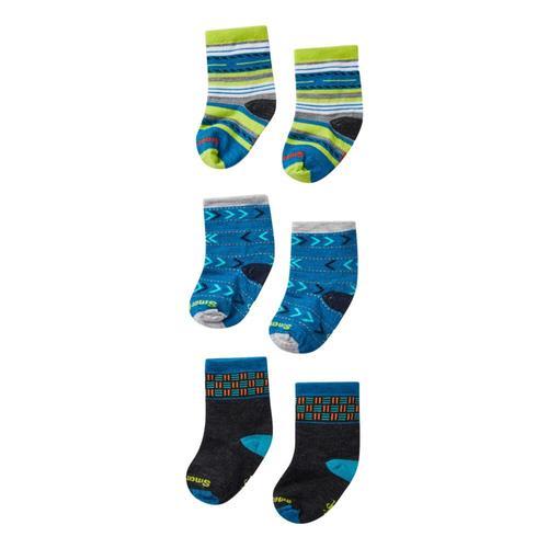 Smartwool Toddler Trio Socks Ocean_e21