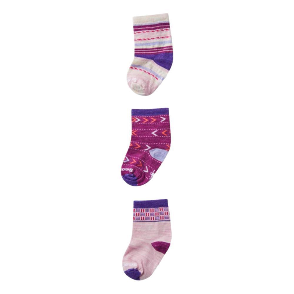 Smartwool Toddler Trio Socks PINK_B98