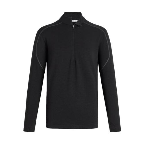 tasc Men's Tahoe II Fleece Half-Zip Blk/Metal001