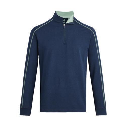 tasc Men's Carrollton Quarter-Zip Jacket Nvy/Gry482