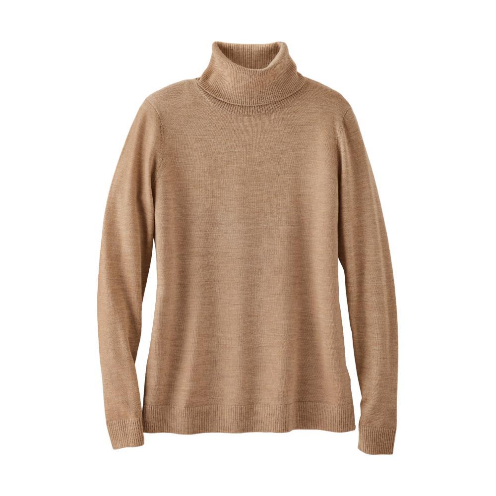 Pendleton Women's Timeless Merino Turtleneck CAMEL_73011