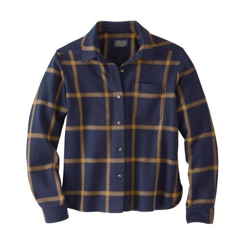 Pendleton Women's Lodge Shirt Navygold_32241