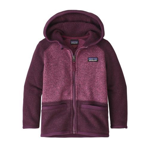 Patagonia Baby Better Sweater Fleece Jacket Plum_dpm