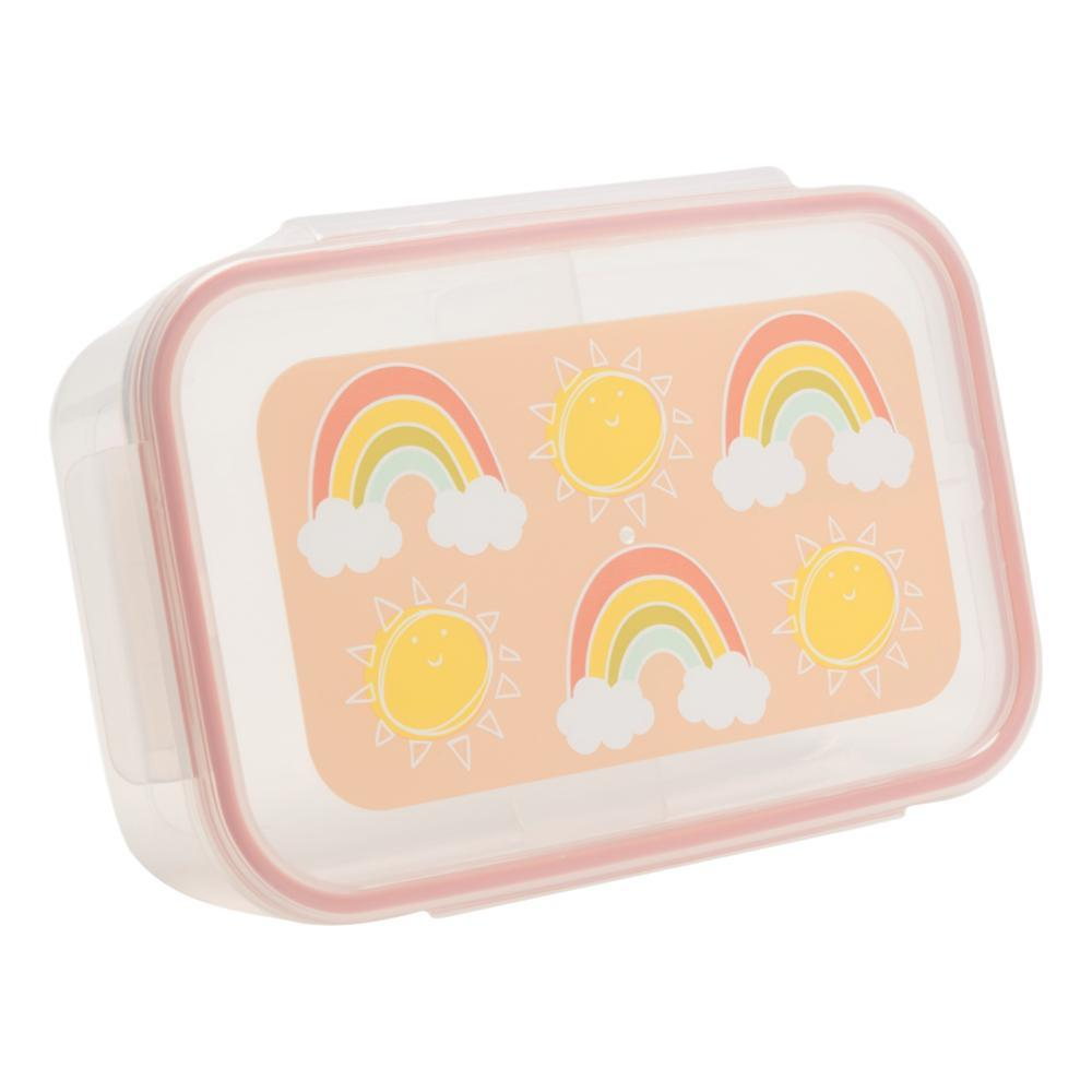 SugarBooger by Ore Rainbows & Sunshine Good Lunch Bento Box RAINBOW