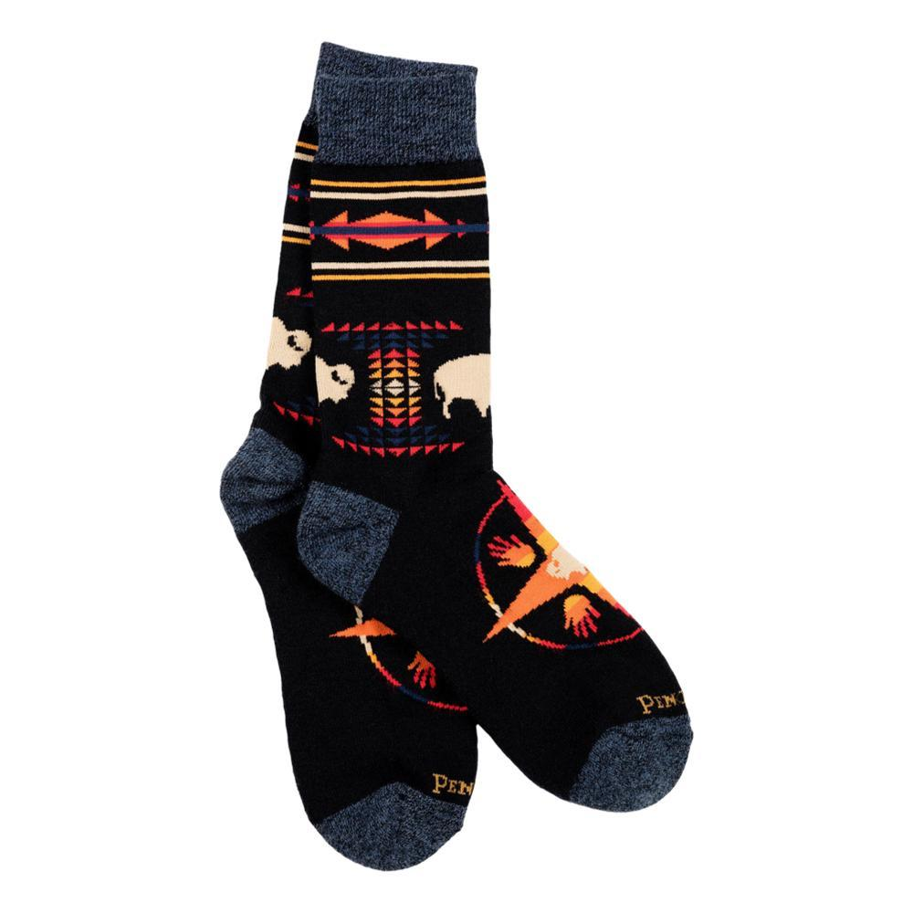 Pendleton Big Medicine Camp Socks BLACK