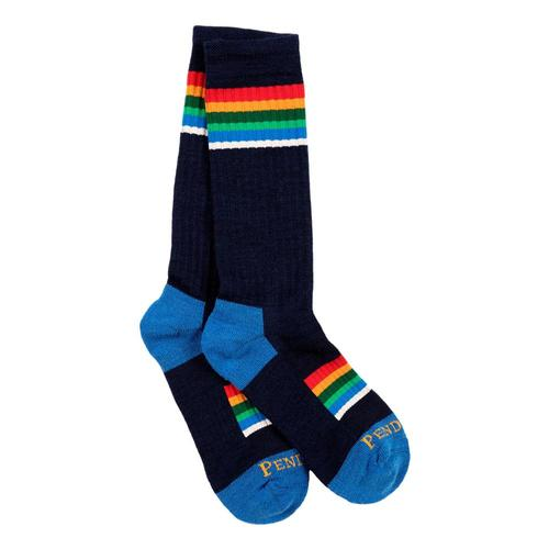 Pendleton Unisex National Park Adventure Socks Blue