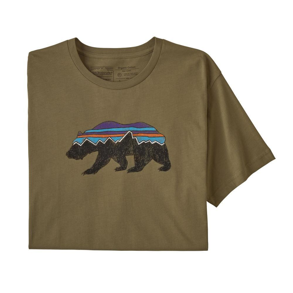 Patagonia Men's Fitz Roy Bear Organic Cotton T-Shirt SKA